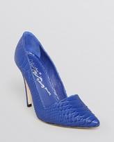 Alice + Olivia Pointed Toe Pumps - Dina High Heel