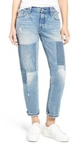 Levi's Levi's ® 501 ® CT Boyfriend Jeans (Stacked Patch Blue)