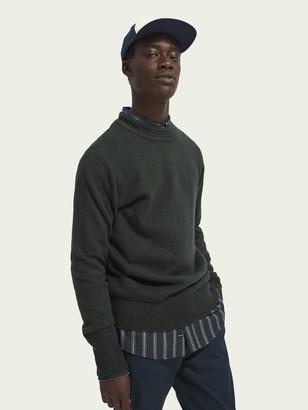 Scotch & Soda Soft knit crewneck pullover   Men