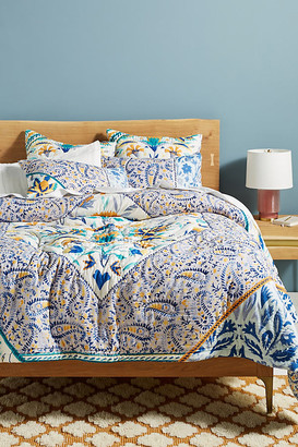 Anthropologie Elspeth Quilt By Artisan Quilts by in Assorted Size TW TOP/BED