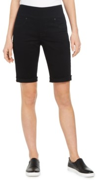 Style&Co. Style & Co Petite Ella Cuffed Bermuda Shorts, Created for Macy's