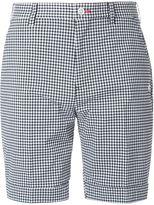Loveless - checked print tailored shorts - men - Cotton/Polyester - 1