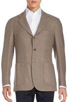 Loro Piana Solid Cashmere Sportcoat