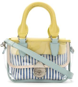 Sarah Chofakian Transparent Tote Bag