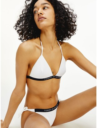 Tommy Hilfiger Recycled Triangle Bikini Swim Top
