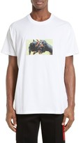 Givenchy Men's Cuban Fit Rottweilers Graphic T-Shirt
