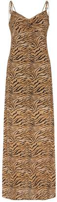 Vix Tiger Print Maxi Dress