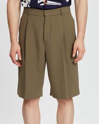 Band Of Outsiders Single Pleat Shorts