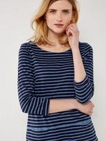 White Stuff Stripe you jersey tunic