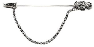 Alexander McQueen Pave Swarovski Crystal Beetle Pin