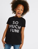 Marks and Spencer Pure Cotton Top (3-14 Years)