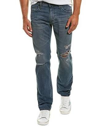AG Adriano Goldschmied Men's The Matchbox Slim Straight Leg LGN Denim