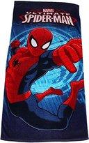 Spiderman Im The Ultimate Webslinger Large Summer Beach Towel By BestTrend