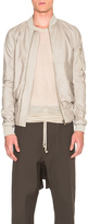 Rick Owens Raglan Leather Bomber