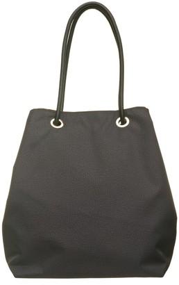 Borbonese Black Op Hobo Bag
