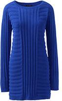 Lands' End Women's Tall Tunic Sweater-Loden Green