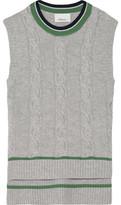 3.1 Phillip Lim Wool-Blend Cable-Knit Vest