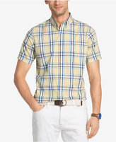 Izod Men's No-Iron Plaid Shirt