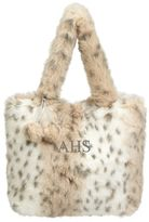 PBteen Snow Leopard Fur Tote