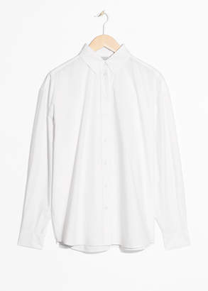 And other stories Oversized Crisp Button Up