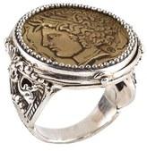 Konstantino Women's 'Arethusa' Coin Ring