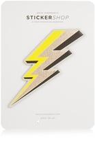 Anya Hindmarch Lightning Bolt large sticker