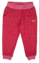 True Religion Little Girl's & Girl's Heathered Sweatpants