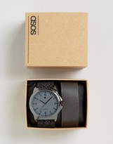 Asos Chunky Oversized Watch With Interchangeable Straps