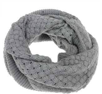 Afinder Vintage Knitted Collar O Ring Loop Snood Scarves Winter Cozy Thermal Neckerchiefs Scarf Neck Warmer for Women Ladies Girls Great Xmas New Year Valentine's Gift
