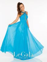 Mon Cheri La Gala Prom by Mon Cheri - 116594 Long Dress In Turquoise