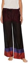 Lemlem Women's Eve Lounge Cotton Wide Leg Pant