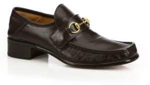 Gucci Vegas Horsebit Leather Loafers