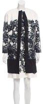 Peter Som Leaf Print Dress Suit