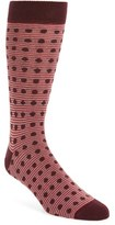 Ted Baker Men's Dot & Stripe Pattern Organic Cotton Socks