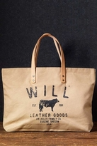Will Leather Goods Small Classic Carry-All Bag in Tan