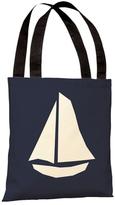 Vintage Sailboat Tote Bag