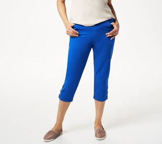Denim & Co. Comfy Knit Pull-On Capri Pants