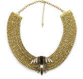 Impulse Women's Structured Necklace - Gold