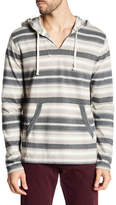Lucky Brand Stripe Baja Long Sleeve Stripe Sweatshirt