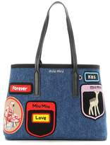 Miu Miu Tote with appliqué
