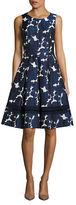 Eliza J Floral Patterned Dress