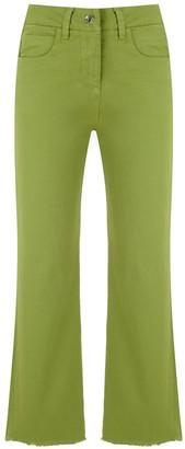Egrey Cor flared trousers