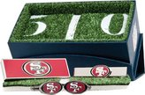 Cufflinks Inc Men's San Francisco 49er's 3-Piece Gift Set