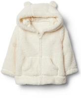 Cozy bear zip hoodie