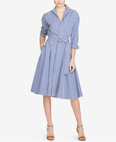 Polo Ralph Lauren Striped Cotton Shirtdress