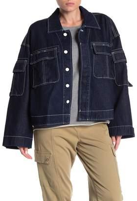 GRLFRND Dorian Cargo Denim Jacket