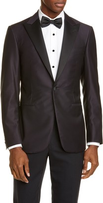 Canali Classic Fit Wool Dinner Jacket