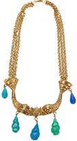 Mercedes Benz Robirosa Vintage double fish necklace