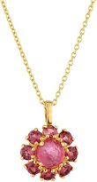 Ippolita 18k Lollipop® Mini Flower Pendant Necklace, Pink