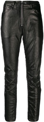 Marcelo Burlon County of Milan Shiny Biker Trousers